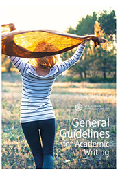 Read general guidelines for academic writing