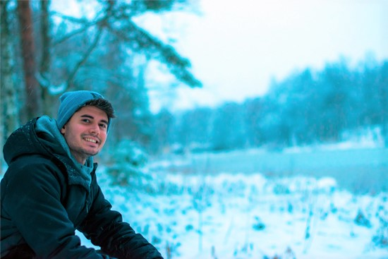 Marcelo, Arctic Art and Design MA student in the University of Lapland