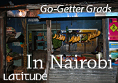 Our graduate doing anthropological research in Nairobi: Read more in Latitude – University of Lapland Magazine