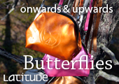 Butterfly adorns our graduate's own line of bags and purses: Read more in Latitude – University of Lapland Magazine