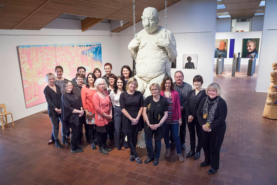Northern Art Network meeting at the Rovaniemi Art Museum in May 2014. Photograph: Arto Liiti