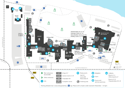 University of Lapland Campus map