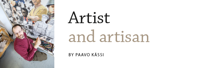 Kalle Lampela - Artist and artisan. Article by Paavo Kässi in Latitude 2014.