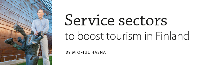 Johan R. Edelheim - Service sectors to boost tourism in Finland. Article by M Ofiul Hasnat in Latitude 2014