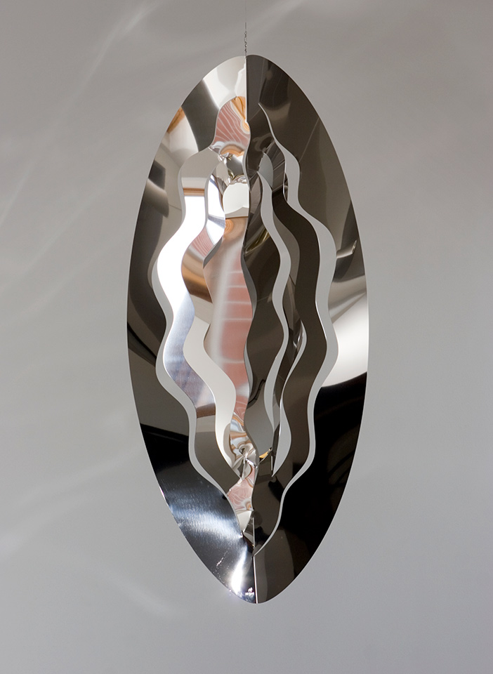 16. Hedelmiä II, 58x130x15cm, stainless steel, sheet 1,25mm, 1999