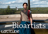 The profile of bioartist Maria Huhmarniemi in Latitude – University of Lapland Magazine